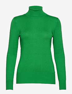 Astrid Roll Neck - FERN GREEN