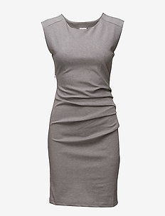 India Round-Neck Dress - GREY MELANGE