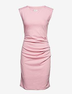 India Round-Neck Dress - PINK NECTAR