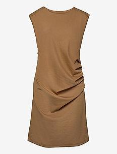 India Round-Neck Dress - midi kjoler - thrush