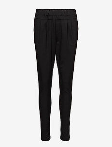 Jillian Pants - bukser med smalle ben - black deep