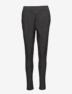 Jillian Pants - skinny leg hosen - dark grey melange
