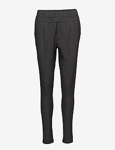 Jillian Pants - bukser med smalle ben - dark grey melange