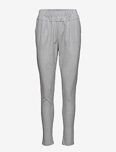 Jillian Pants - bukser med smalle ben - light grey melange