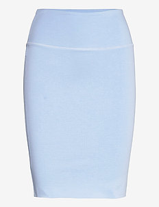 Penny Skirt - midinederdele - chambray blue
