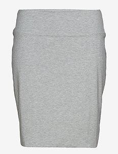 Penny Skirt - korte nederdele - grey melange