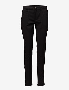 Vera Pant - pantalons slim fit - black deep