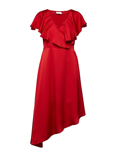 Rosita Dress- MIN 4 PCS - HAUTE RED
