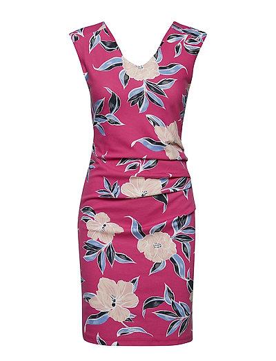 Licia India Dress - FUCHSIA ROSE