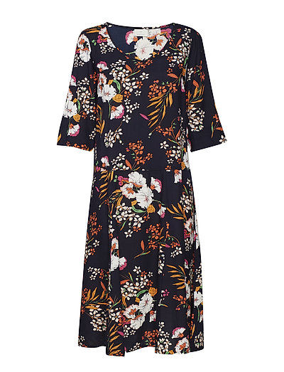 Noona Dress - MIDNIGHT MARINE