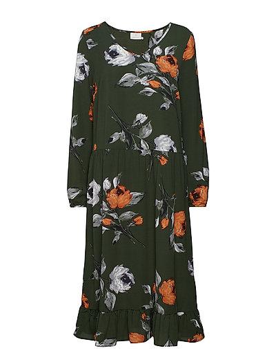 Julette Dress - KOMBU GREEN