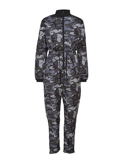 KAjane Army Jumpsuit - BLACK DEEP