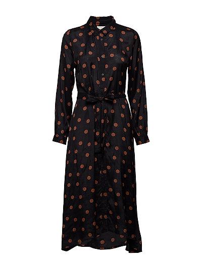 KAoline Dress - BLACK DEEP