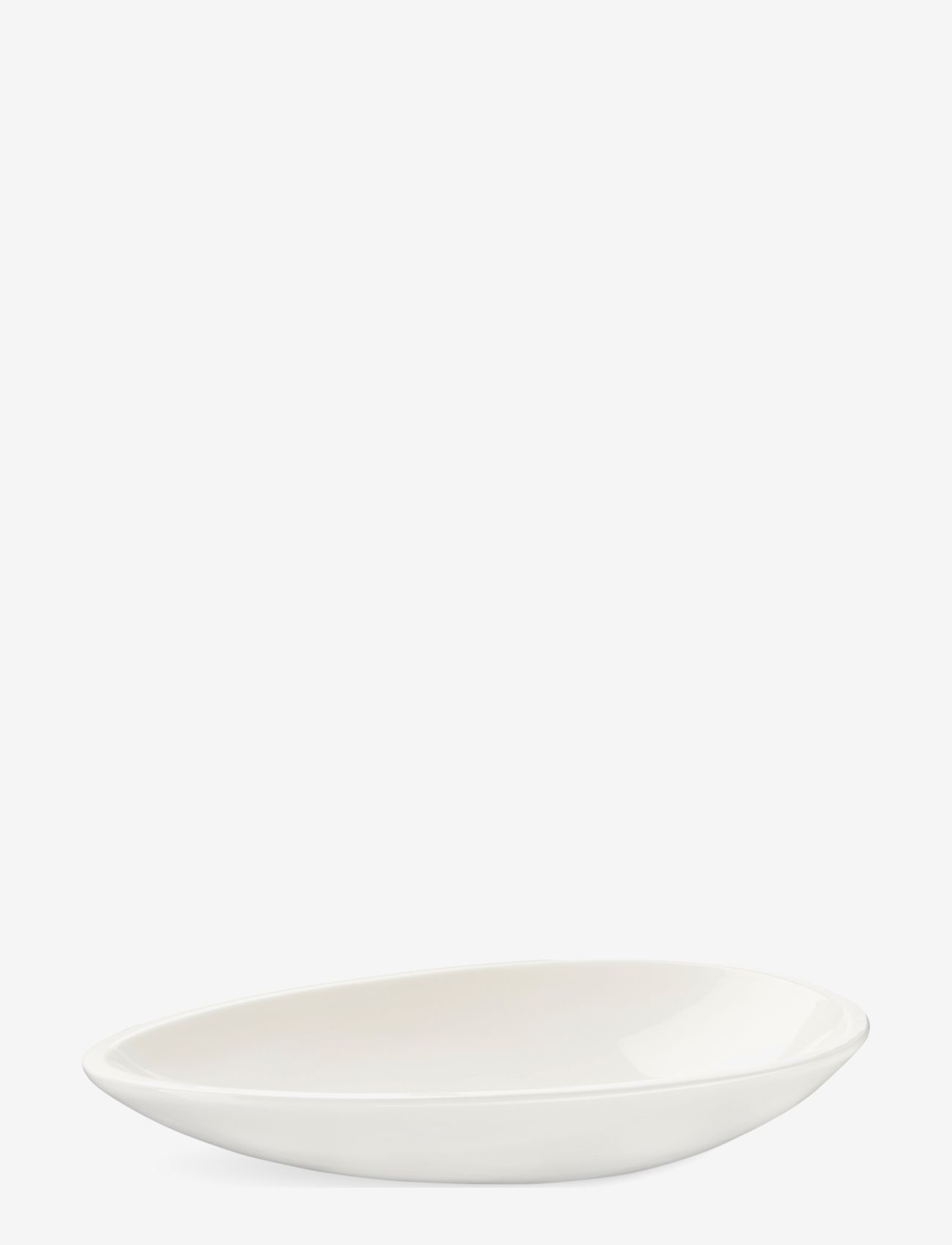 Kähler - Kokong Oval bord skål - serveringsfat - white - 0
