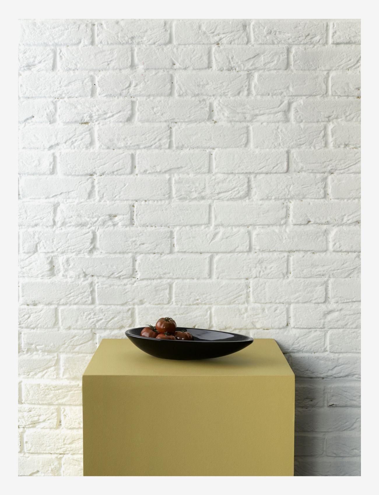 Kähler - Kokong Oval bord skål - serveringsfat - brown - 1