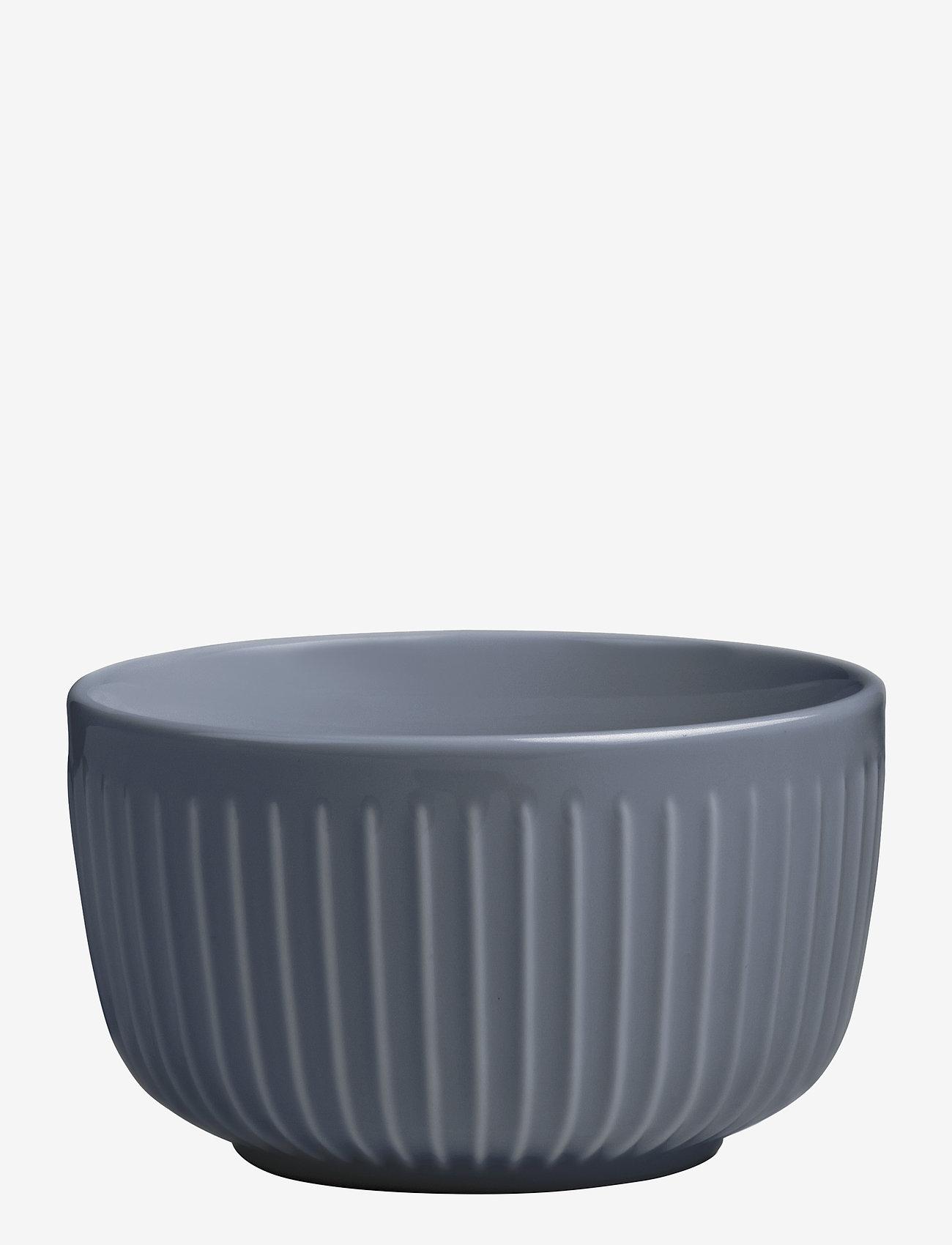 Kähler - Hammershøi Bowl Ø12cm - tarjoilukulhot - anthracite grey - 0