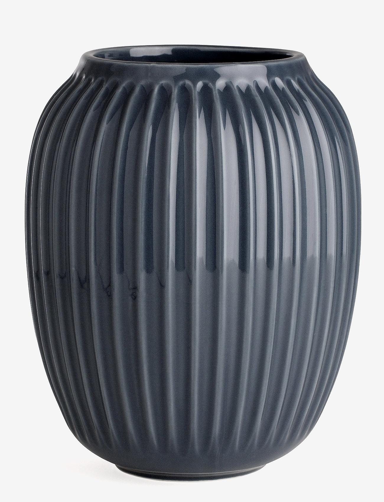 Kähler - Hammershøi Vas H21 antracitgrå (15381) - interiör - anthracite grey - 0