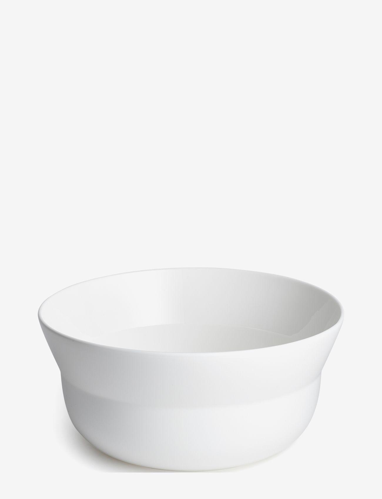 Kähler - Kaolin Bowl - salaattikulhot - white - 0