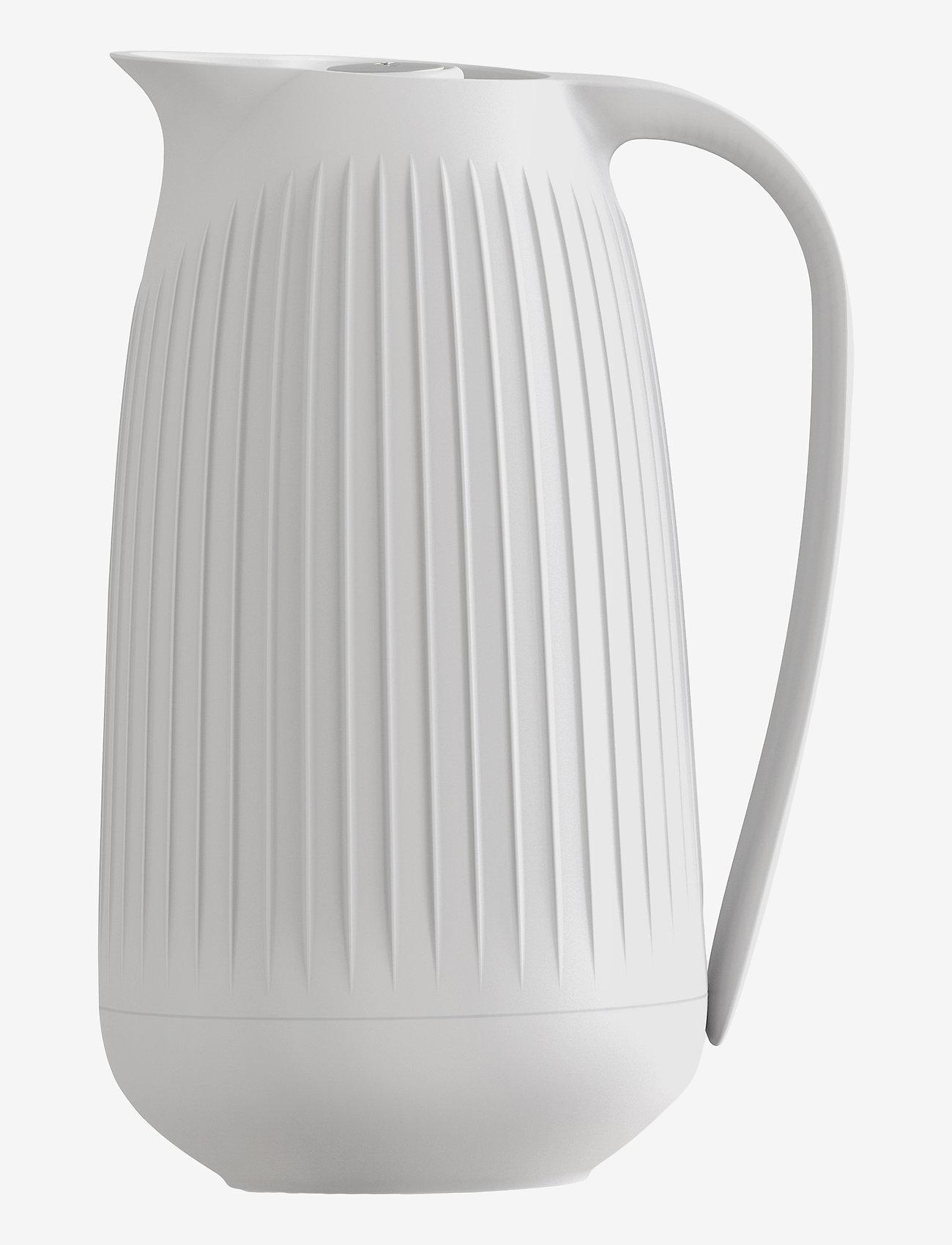 Kähler - Hammershøi Thermos jug 1,0 l - kannut & karahvit - white - 0
