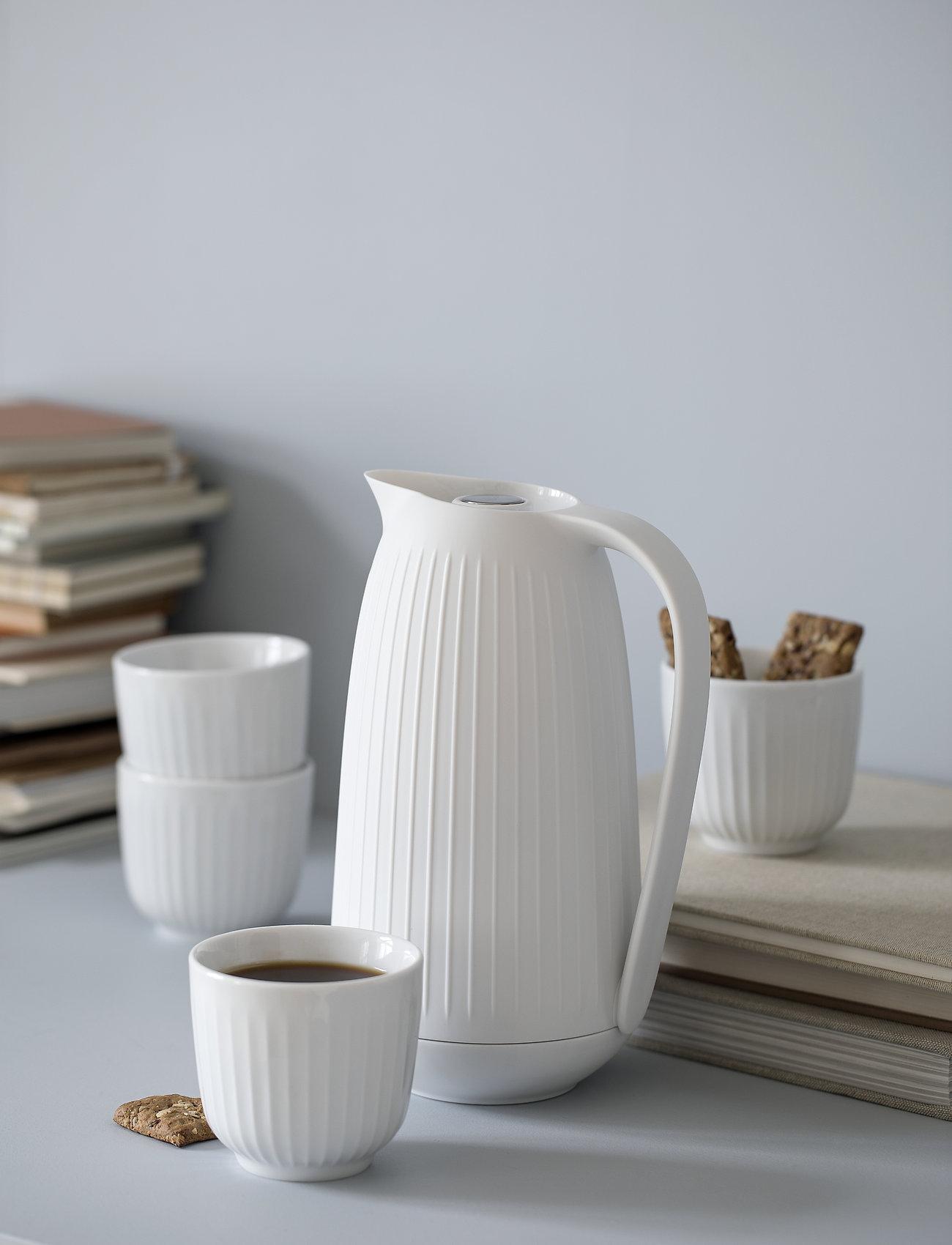 Kähler - Hammershøi Thermos jug 1,0 l - kannut & karahvit - white - 1