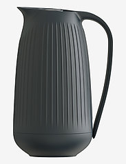 Kähler - Hammershøi Thermos jug 1,0 l - kannut & karahvit - anthracite grey - 0