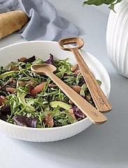 Kähler - Hammershøi Salatsett eik - salatbestikk - oak - 1