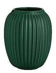 Hammershøi Vase H21 green - GREEN
