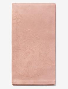 Hammershøi Poppy Stofserviet 45x45 cm 4 stk. - stofservietter - nude