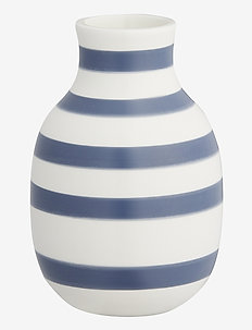 Omaggio Vase H12,5 blue (17280) - dekorationer - blue