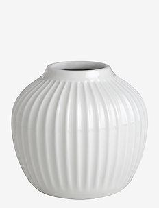 Hammershøi Vase H13 white - dekorationer - white