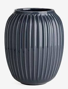 Hammershøi Vase H21 anthracite grey - dekorationer - anthracite grey