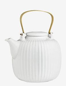 Hammershøi Teapot 1,2 l - teepannut - white