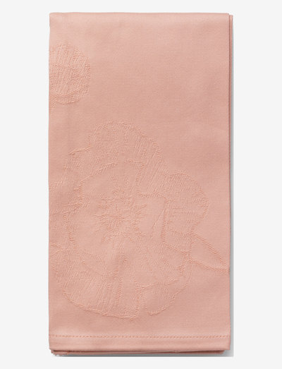 Hammershøi Poppy Napkin 45x45 cm 4 pcs. - lautasliinat - nude