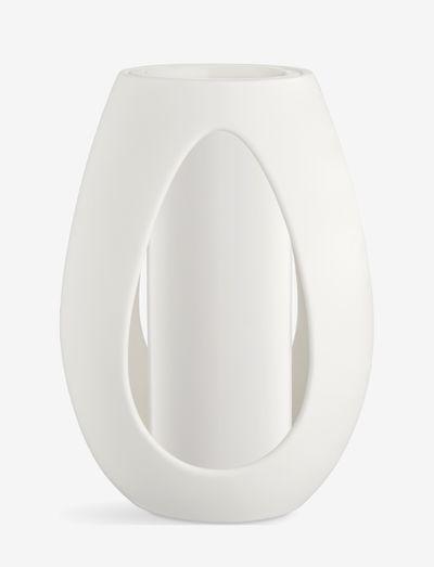 Kokong Vase with cylinder - maljakot - white