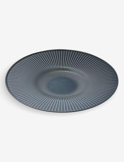 Hammershøi Dish - tarjoiluastiat ja -lautaset - anthracite grey