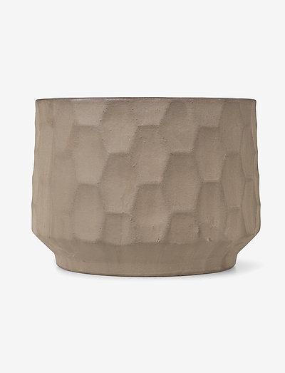 Gro Flowerpot - ruukut - light sand