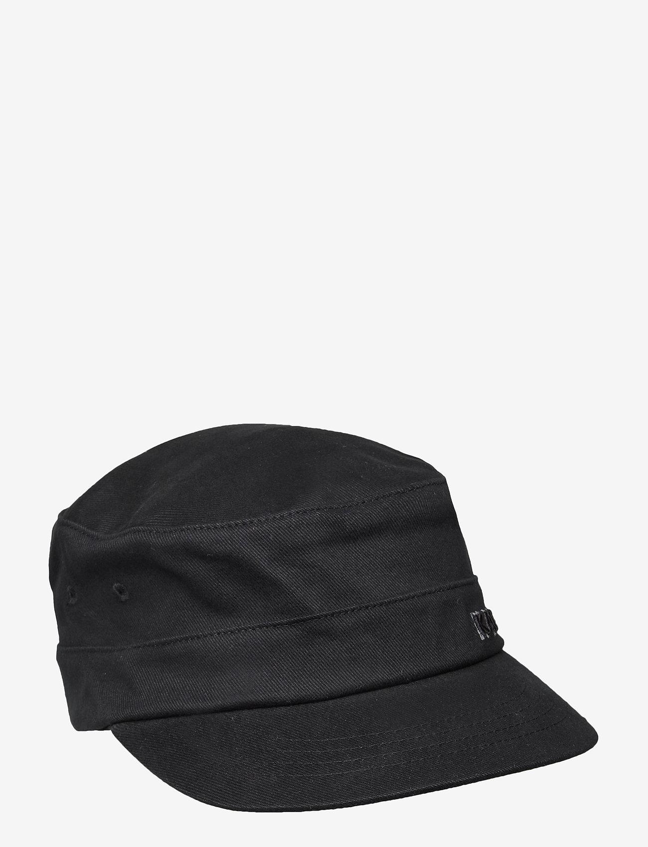 Kangol - KG COTTON TWILL ARMY CAP - kasketter - black - 0