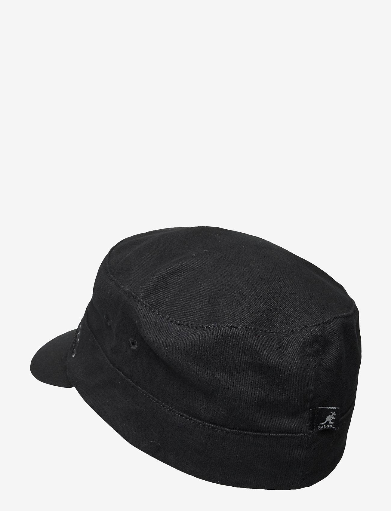Kangol - KG COTTON TWILL ARMY CAP - kasketter - black - 1