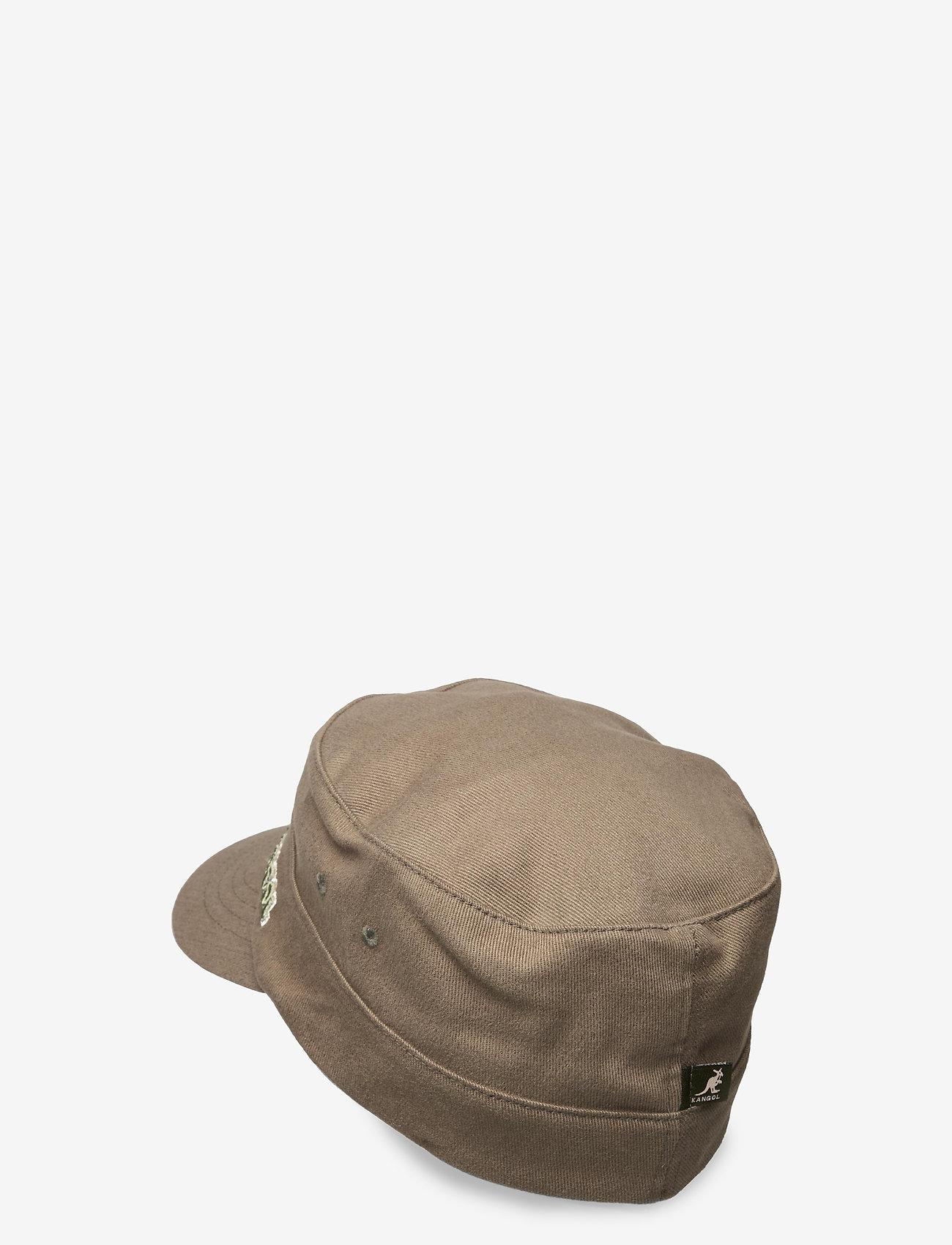 Kangol - KG COTTON TWILL ARMY CAP - kasketter - green - 1