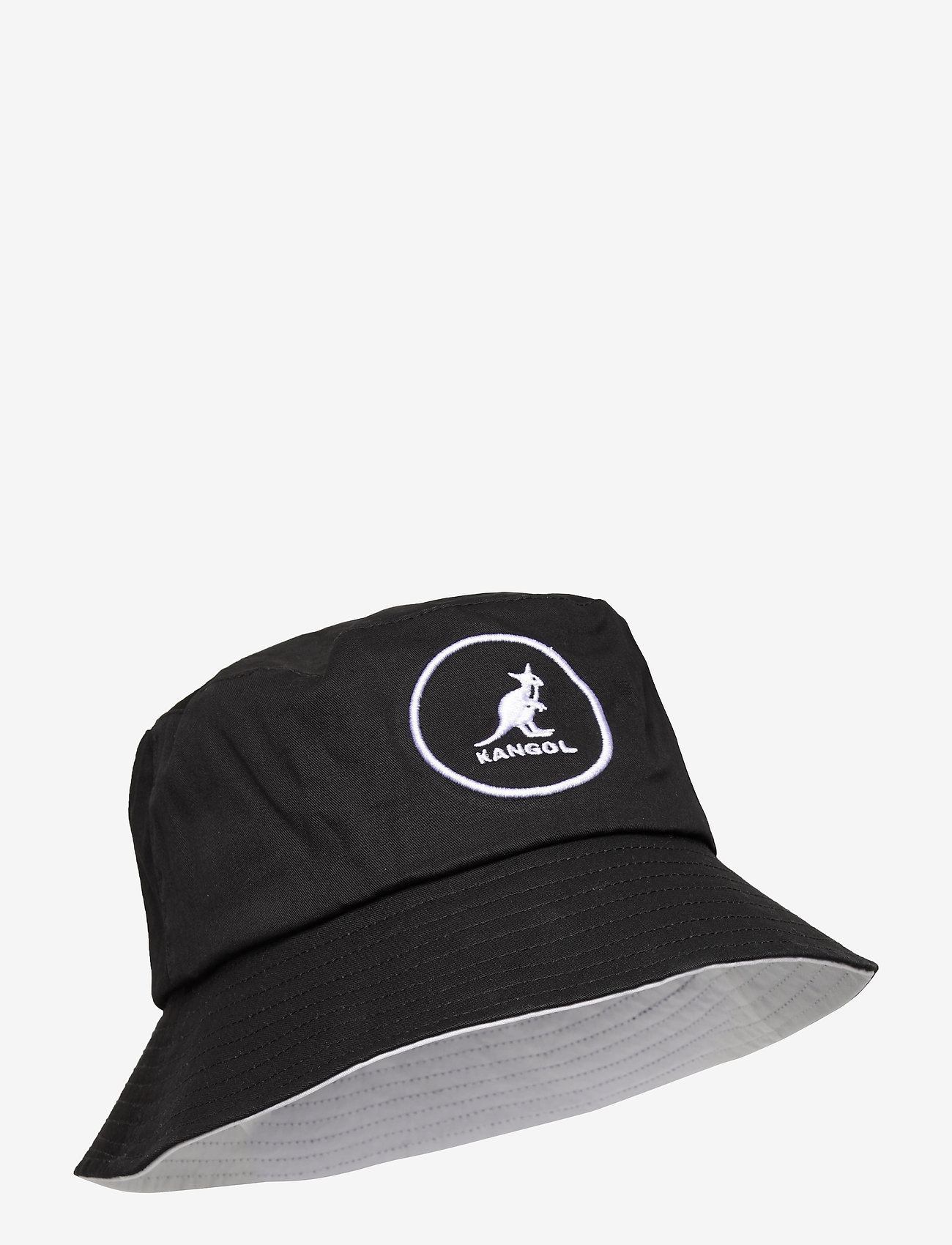 Kangol - KG COTTON BUCKET - bucket hats - black - 0