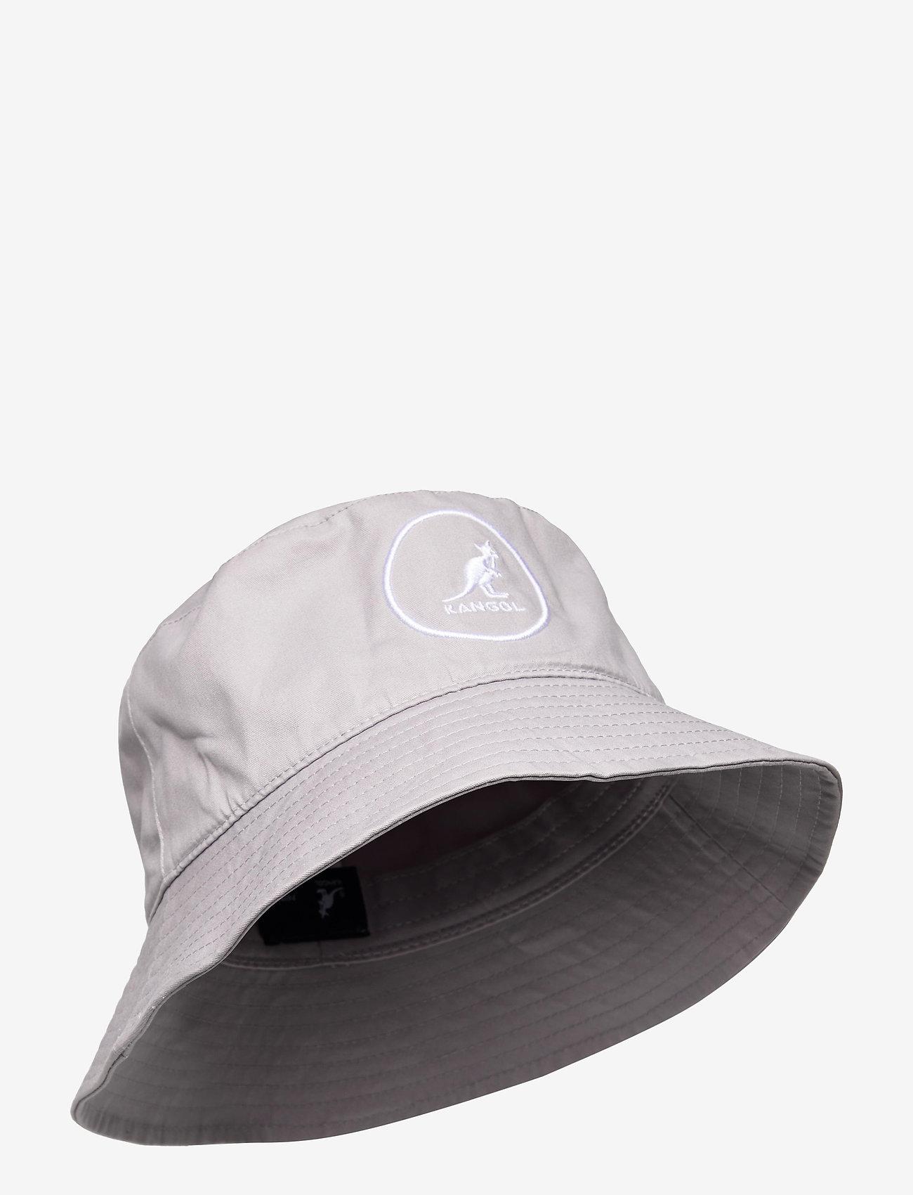 Kangol - KG COTTON BUCKET - bucket hats - light grey - 0
