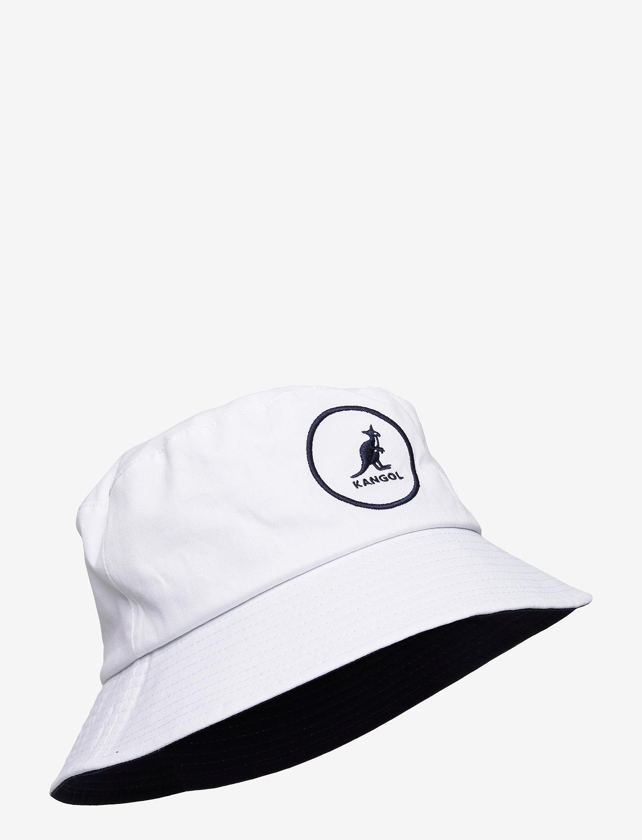 Kangol - KG COTTON BUCKET - bucket hats - white - 0