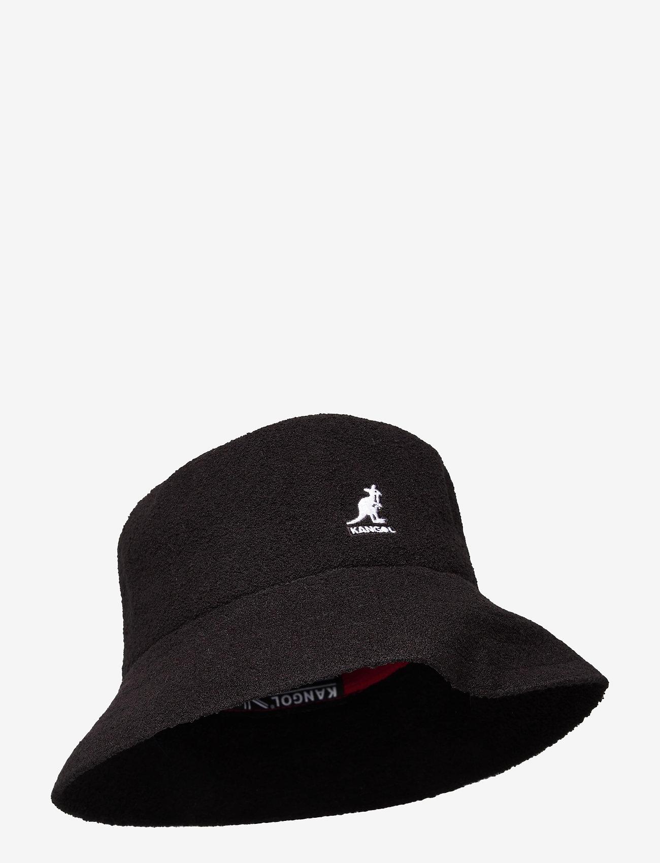 Kangol - KG BERMUDA BUCKET - bucket hats - black - 0