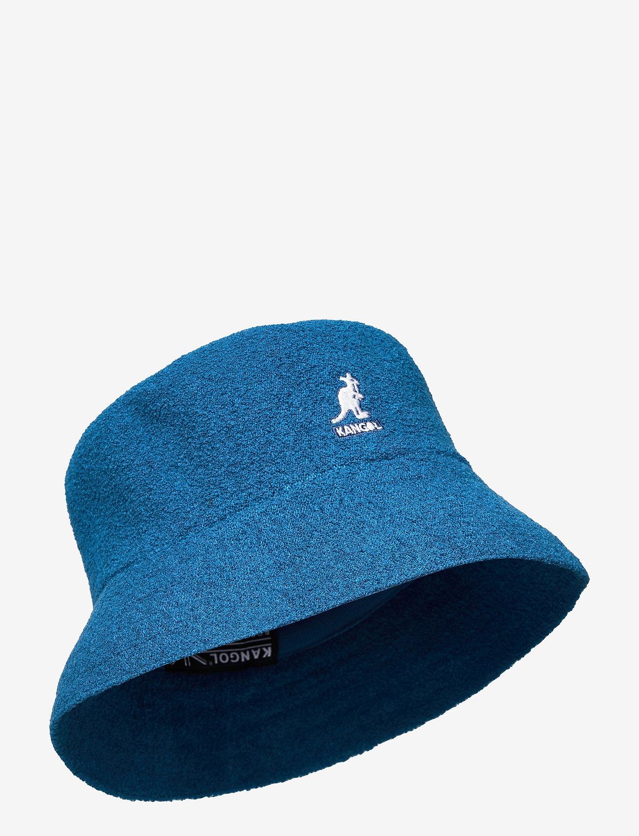 Kangol - KG BERMUDA BUCKET - bucket hats - mykonos blue - 0