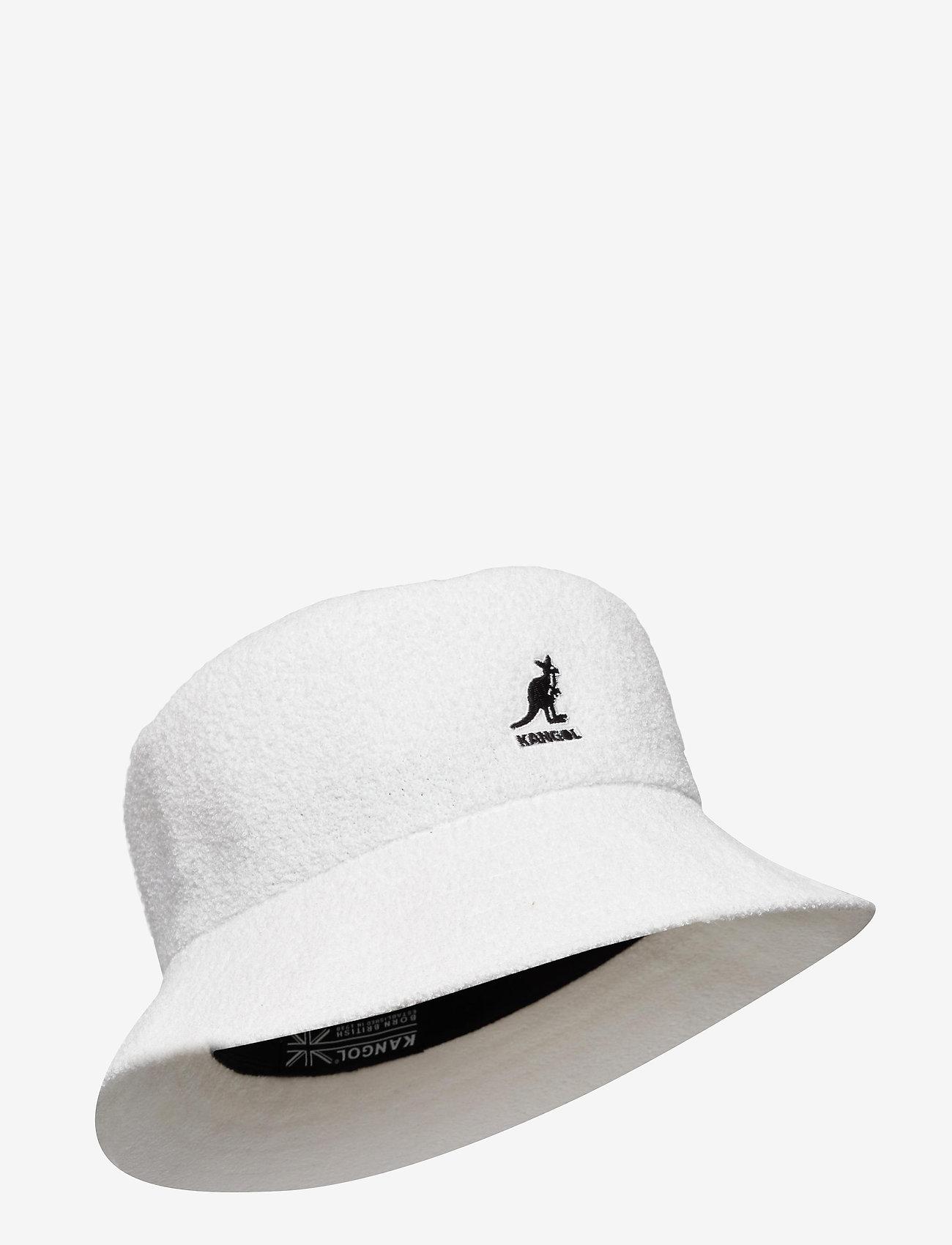 Kangol - KG BERMUDA BUCKET - bucket hats - white - 0