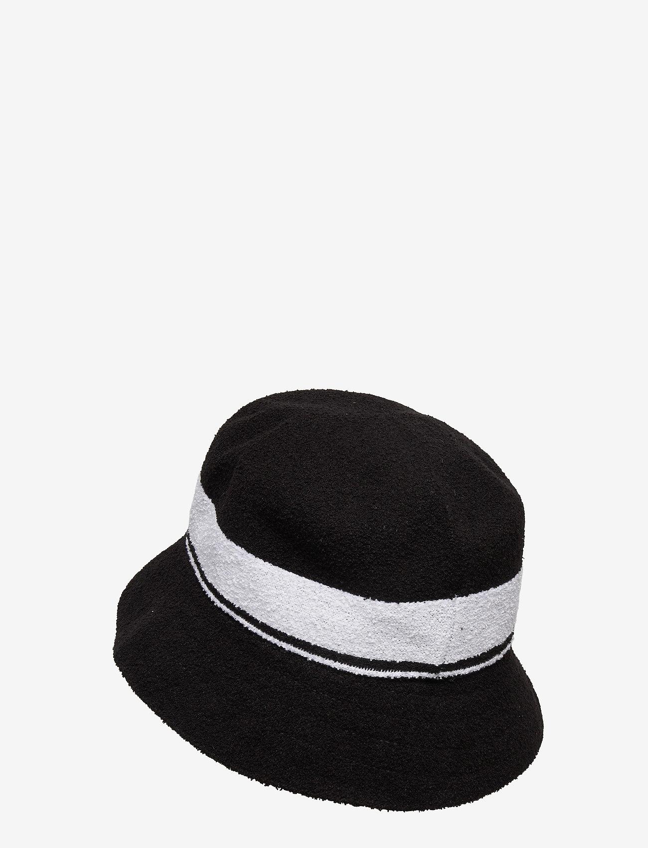 Kangol - KG BERMUDA STRIPE BUCKET - bucket hats - black - 1