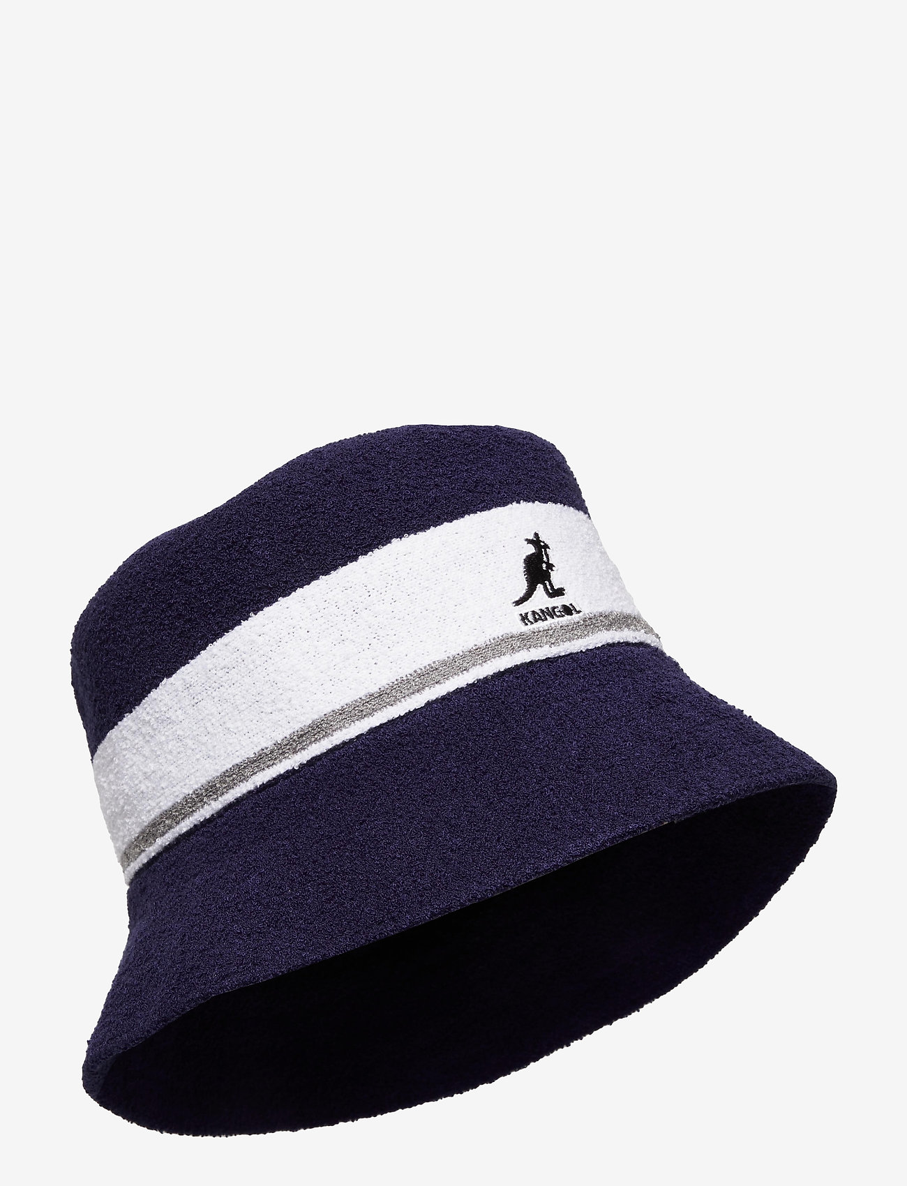 Kangol - KG BERMUDA STRIPE BUCKET - bucket hats - navy - 0