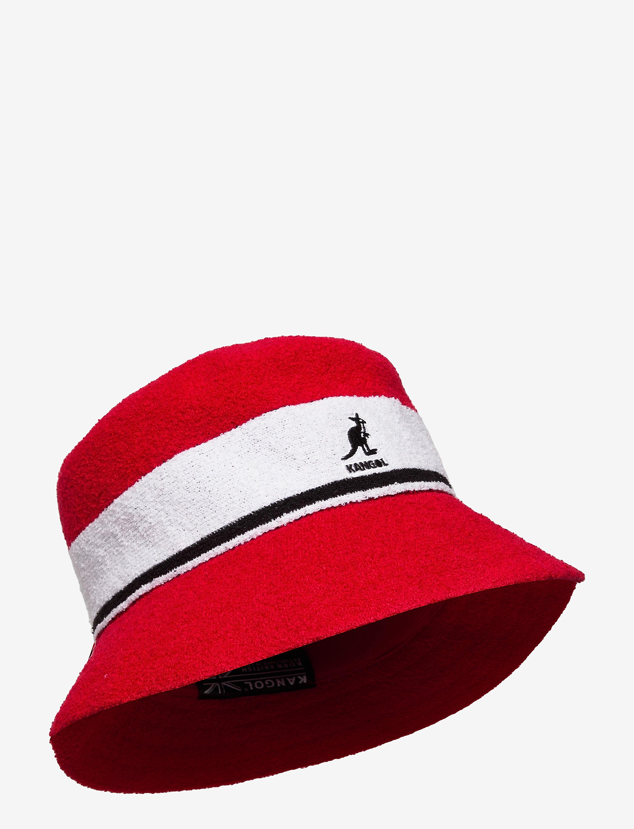 Kangol - KG BERMUDA STRIPE BUCKET - bucket hats - scarlet - 0
