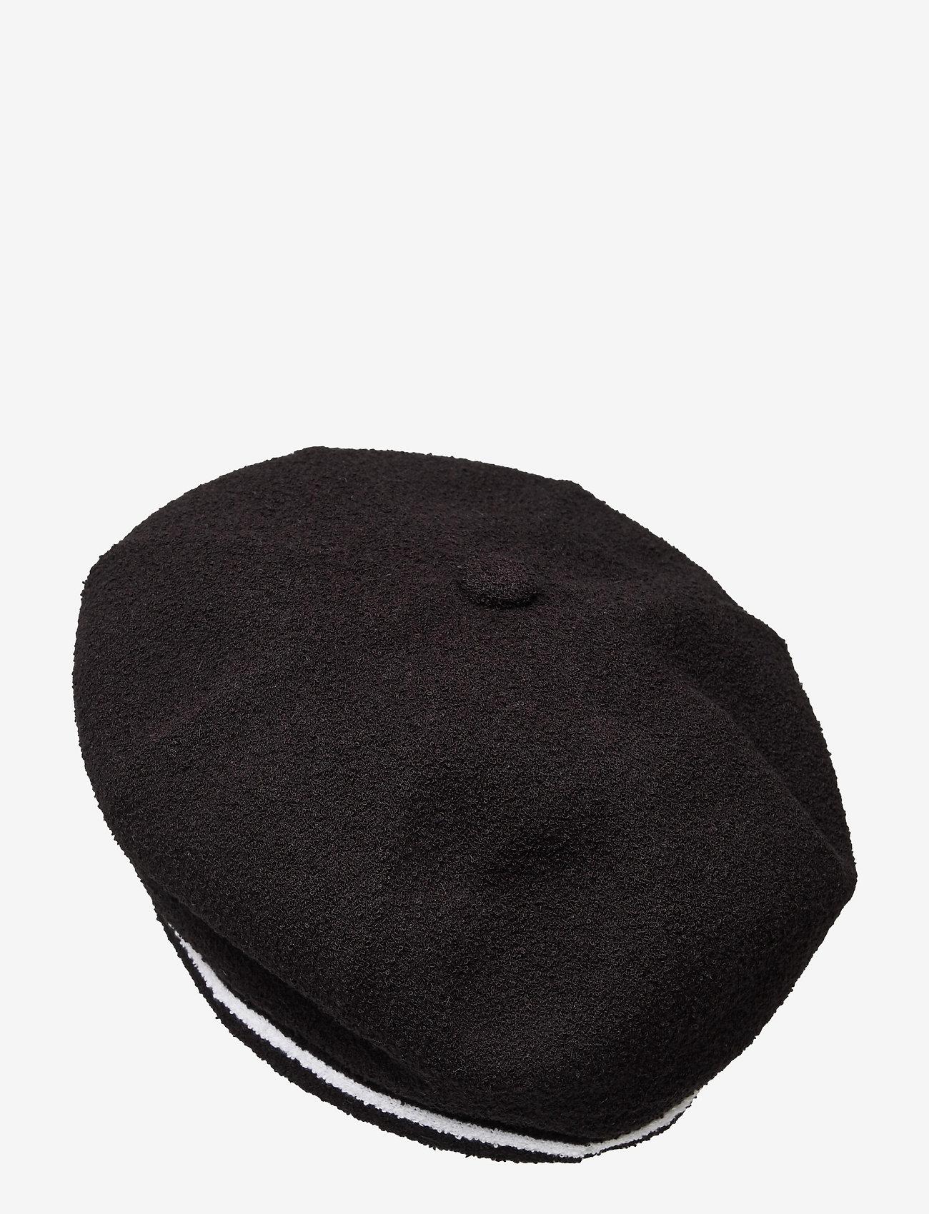Kangol - KG 2-TONE BERMUDA JAX BERET - chapeaux - black - 1
