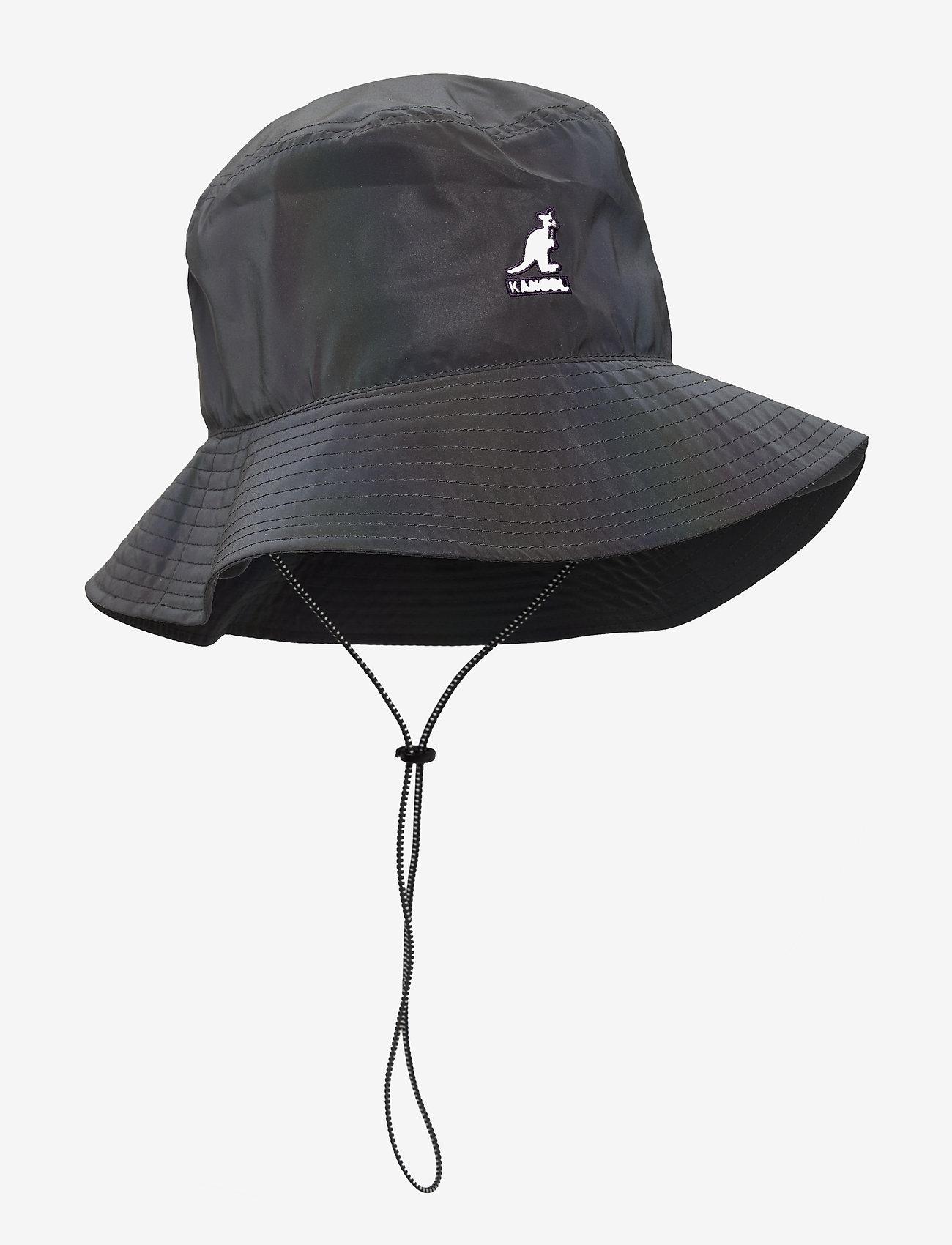 Kangol - KG IRIDESCENT JUNGLE HAT - bucket hats - ink - 0